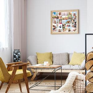 EasyCollage - Creatieve ideeën voor muurdecoratie